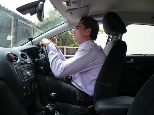 Poor Posture Driving